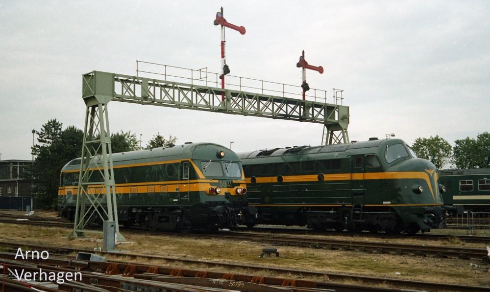 2004 07 03 et 04 roosendaal spoort 150 ann es chemin de for Portique traction exterieur